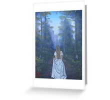 """Searching For My Beloved""  by Carter L. Shepard Greeting Card"