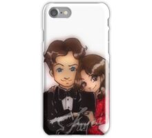 Caskett party iPhone Case/Skin