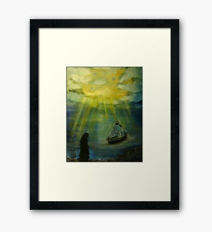 """""""The Calling""""  by Carter L. Shepard Framed Print"""