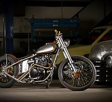 Davo's Custom Honda Bobber by HoskingInd
