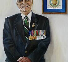 ANZAC Portrait Series  JOE by Wayne Dowsent