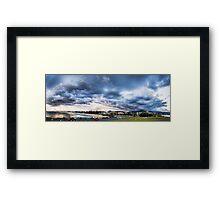 Winter Wollongong Framed Print