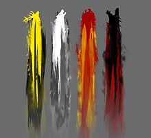 Four animals by SxedioStudio