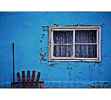 blue yonder Photographic Print