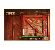 cider house rules Art Print