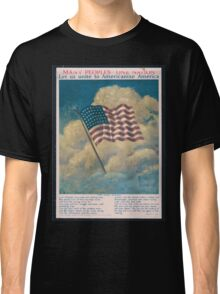 Many peoples one nation Let us unite to Americanize America Classic T-Shirt