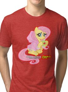 Fluttershy swag  Tri-blend T-Shirt