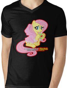 Fluttershy swag  Mens V-Neck T-Shirt