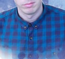 phil lester (without banner) Sticker