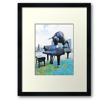A World of Art and Music Framed Print