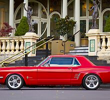 Keith Keily's 1966 Ford Mustang Coupe by HoskingInd
