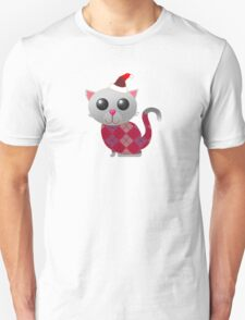 Santa Kitty Unisex T-Shirt