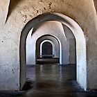 Inside Castillo San Cristobal by cclaude