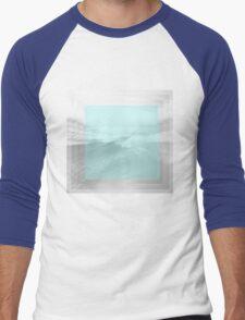 Blue Wave Men's Baseball ¾ T-Shirt