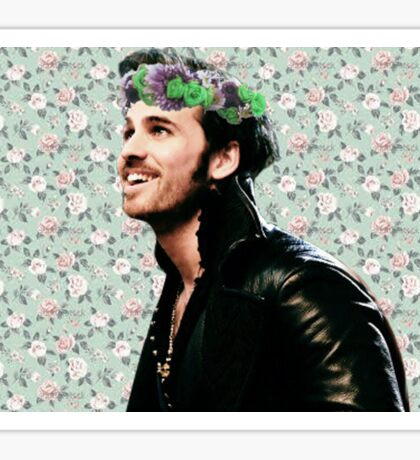 Flower Crown Killian Sticker