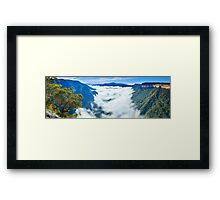 Kanangra Valley, Kanangra-Boyd National Park, New South Wales, Australia Framed Print