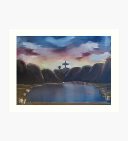 """The Wonderous Cross""  by Carter L. Shepard Art Print"