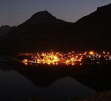 Waterton Reflections by Alyce Taylor