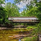 The Green Sergeants Covered Bridge # 2 by Debra Fedchin