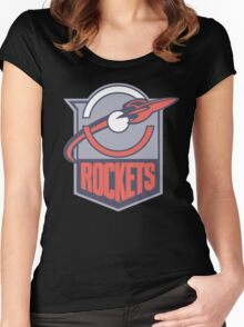 Silph Company Rockets Women's Fitted Scoop T-Shirt