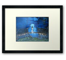"""Gaze""  by Carter L. Shepard Framed Print"