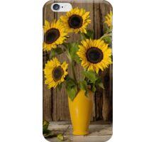 Still Life Sunflowers iPhone Case/Skin