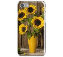 Still Life Sunflowers iPhone Case/Skin