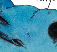 Blue Fairy-wren Sticker
