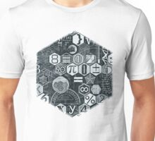 Math on the Blackboard Unisex T-Shirt