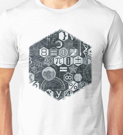 Math on the Blackboard Unisex T-Shirt