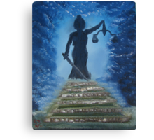 """""""Come Justice""""  by Carter L. Shepard Canvas Print"""