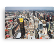 Downtown Johannesburg, South Africa Canvas Print
