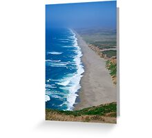 Point Reyes Endless Beach Greeting Card