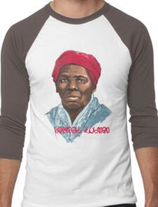 Harriet Tubman - American Hero Men's Baseball ¾ T-Shirt