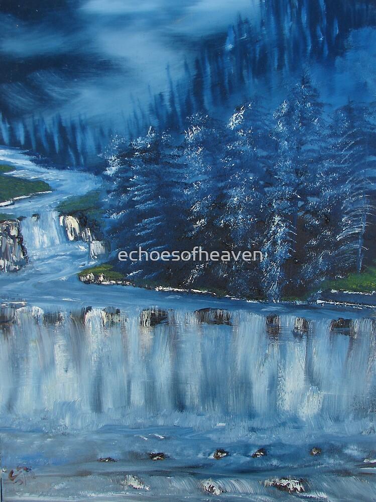"""""""Winter Scene 5""""  by Carter L. Shepard by echoesofheaven"""