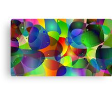 """Colorful Abstract Digital Art-Title"""" Fish Tank Canvas Print"""