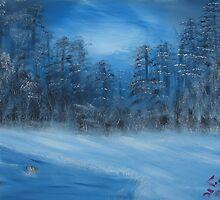 """""""Winter Scene 4""""  by Carter L. Shepard by echoesofheaven"""
