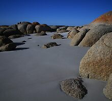 Sand and Rocks by Adam  Davey