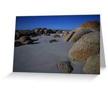 Sand and Rocks Greeting Card