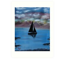 """Sail Away""  by Carter L. Shepard Art Print"