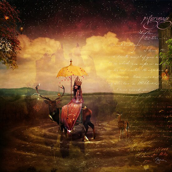 Pilgrimage by autumnsgoddess