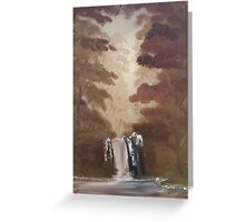 """Rustic Fall 2""  by Carter L. Shepard Greeting Card"