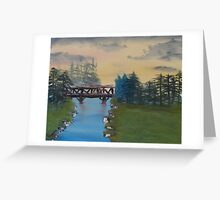"""Quiet Streams""  by Carter L. Shepard Greeting Card"