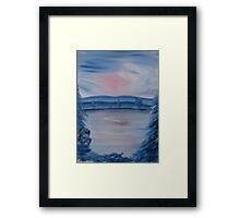 """Pastel Winter 2""  by Carter L. Shepard Framed Print"