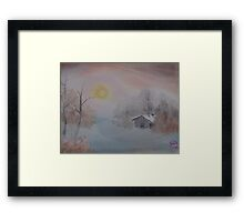 """Lighted Winter""  by Carter L. Shepard Framed Print"