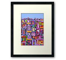 Urban Colours Framed Print
