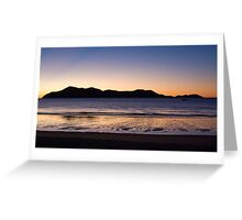 Dawn, South Mission Beach, Far North Queensland Greeting Card
