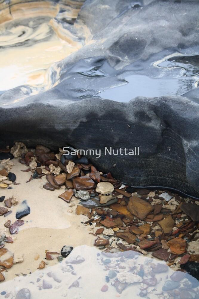 Rainbow Beach Rockpool by Sammy Nuttall