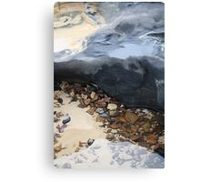 Rainbow Beach Rockpool Canvas Print
