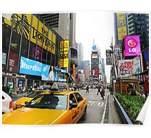 Times Square, New York Poster